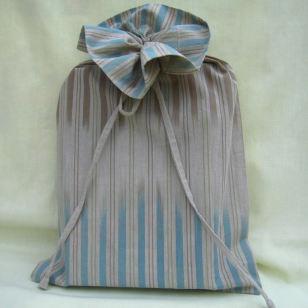 book size, fair trade fabric, cloth gift bag, fabric gift bag, organic cotton gift bag, exclusive design cloth gift bag,