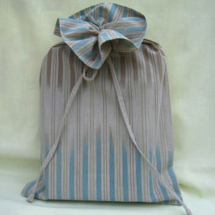 book size, fair trade fabric, cloth gift bag, fabric gift bag, organic cotton gift bag, exclusive design cloth gift bag,